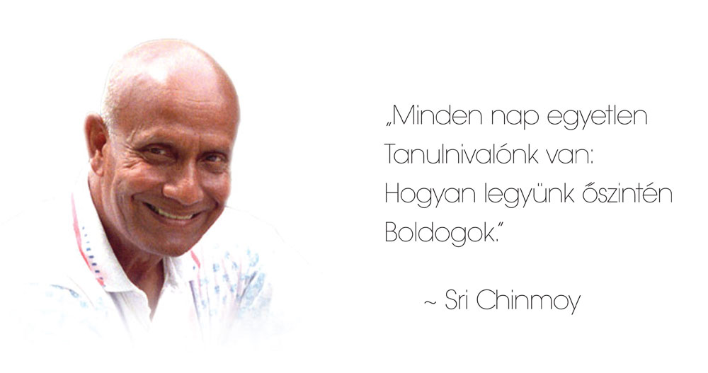 Sri Chinmoy boldogsag ok