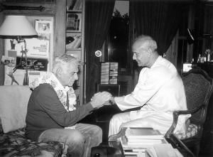 Leonard Bernstein és Sri Chinmoy
