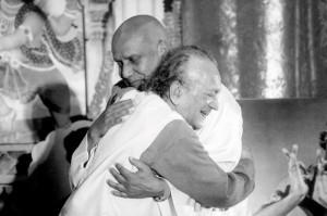 Ravi Shankar és Sri Chinmoy